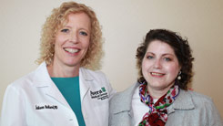 Dr. Reiland and Victoria Breen