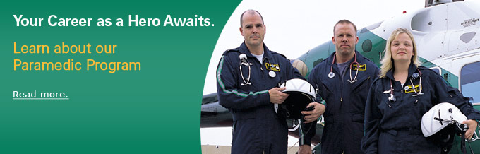 learn about our paramedic program