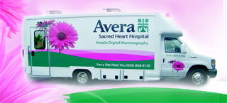 Avera Sacred Heart Hospital Digital Mobile Mammo