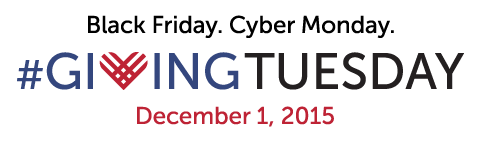 Giving Tuesday, Dec. 1, 2015